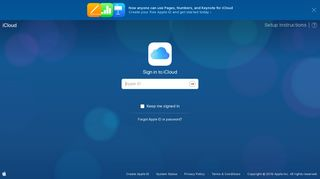 Sign in to iCloud - Apple
