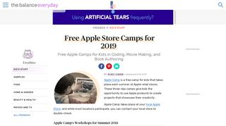 Free Apple Camps for Kids in Coding, Movie Making, and Book ...