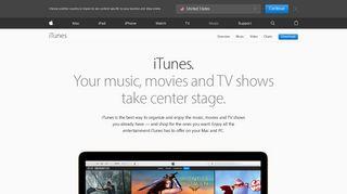 iTunes - Apple (CA)