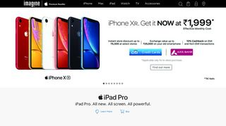 Imagine Store - Premium Apple authorized reseller   Buy Apple Products