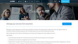 Customer Portal - AppRiver