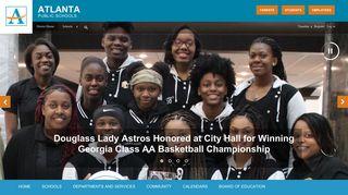 APS Webmail - Atlanta Public Schools