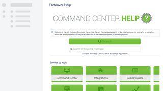 Endeavor Help - ARI - Confluence - Atlassian