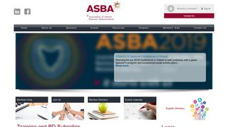 ASBA Limited Online Community