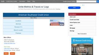American Southwest Credit Union - Sierra Vista, AZ