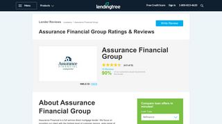Assurance Financial Group - Mortgage Company Reviews ...