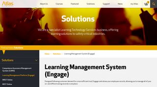Learning Management System (Engage)   Atlas Knowledge