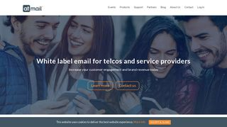 Trusted email hosting for telecom - white label email - atmail - 20 years ...
