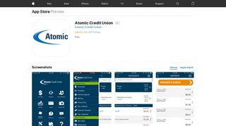 Atomic Credit Union on the App Store - iTunes - Apple