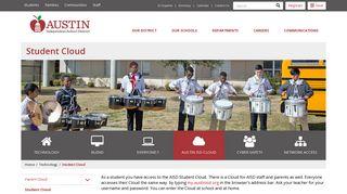 Student Cloud   Austin ISD