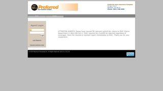 Insured Login - Preferred Auto Insurance Company