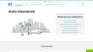 Auto insurance - ICBC