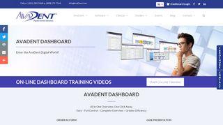 avadent dashboard - Dashboard - AvaDent Digital Dentures