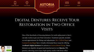 AvaDent® Digital Dentures - Queens - Long Island - NYC - Dentist