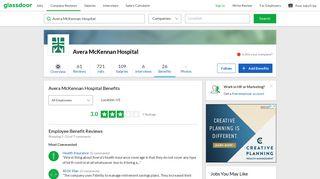 Avera McKennan Hospital Employee Benefits and Perks   Glassdoor