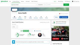 Avera Health Reviews   Glassdoor
