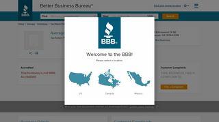 Average1040   Better Business Bureau® Profile