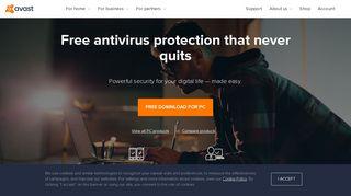 Avast   Download Free Antivirus & VPN   100% Free & Easy
