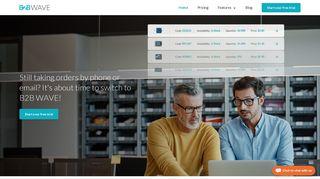 B2B Wave: B2B ecommerce platform