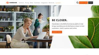 Handshake | B2B eCommerce Platform