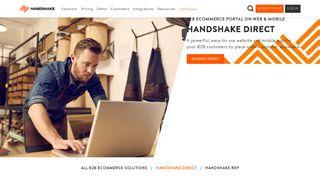 B2B eCommerce Portal | Handshake