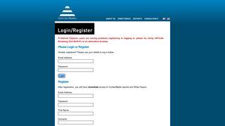 Login or Register - ContactBabel