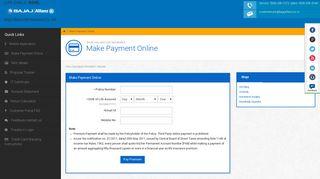 Pay Your Renewal Premium - Bajaj Allianz Life Insurance