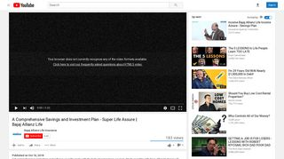 Bajaj Allianz Life - YouTube