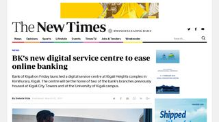 BK's new digital service centre to ease online banking   The New ...