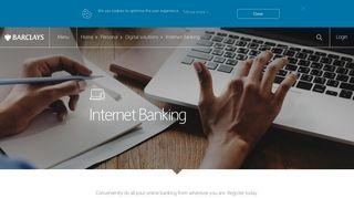 Barclays | Internet Banking