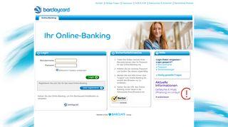 Barclaycard Internet Banking