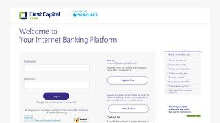 Barclays Internet Banking: Log in