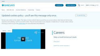 Careers | Barclays