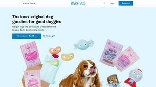 BarkBox: Dog Toys, Treats & Gifts Every Month