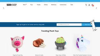 BarkShop: Shop Dog Toys, Treats & Gifts - Best Dog Products