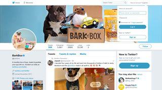 BarkBox (@barkbox) | Twitter