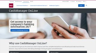 CashManager OnLine | Commercial Solutions | BB&T Commercial