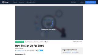 How To Sign Up For BBYO by Cole Pergament on Prezi