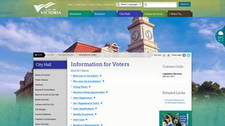 Information for Voters   Victoria