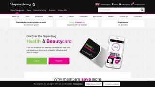 Introducing the Superdrug Beautycard   Superdrug