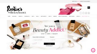 Beauty Addict Log In - Rustan's The Beauty Source   Elite Beauty ...