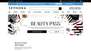 Sephora Beauty Pass Rewards Programme   Sephora Malaysia