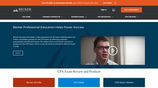 CPA Review Courses | Becker