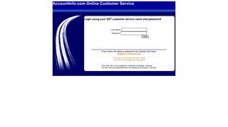 Customer Self Service Site