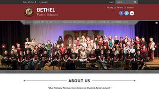 Bethel Public Schools: HOME