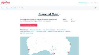 Bisexual Men groups in Australia   Meetup