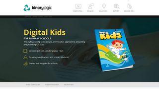 Digital Kids Intl English - Binary Logic