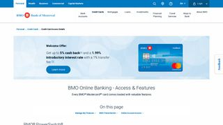 Mastercard Online Banking - Access & Features  BMO