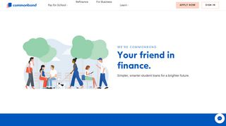 CommonBond | Simple student loans. Smart.