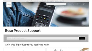 Bose Product Support